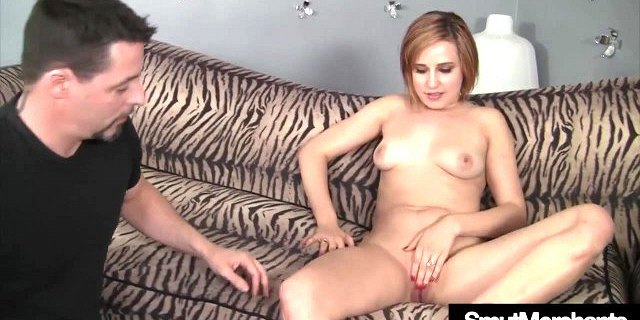 Hot and horny girl Sasha Casey gets fucked in a casting
