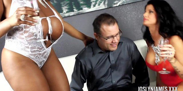Joslyn James Fucks Girl Friend and Lawyer To Get His Help