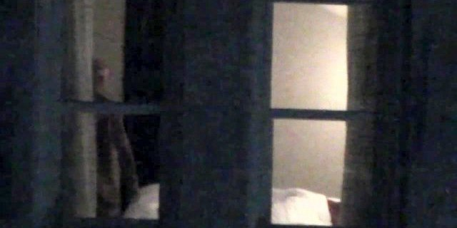 Interracial couple fuck at the hotel