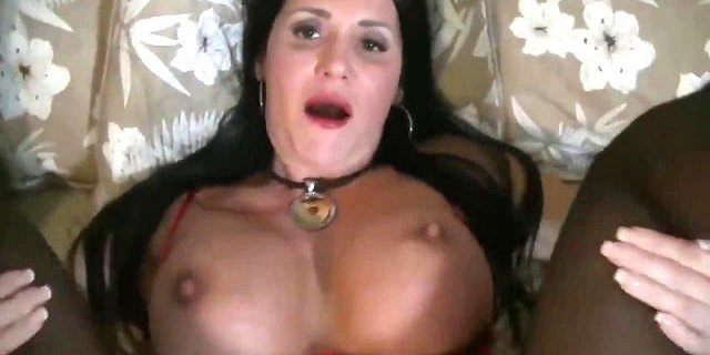 Hot Mom dressed in red needs sons cock