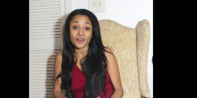 Hot Ebony Girl finds out her friends Boyfriend Cheating