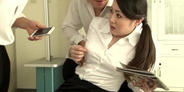 Teacher and lustful students