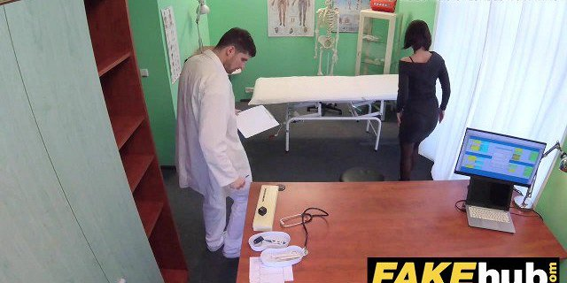 Fake Hospital Czech doctor cums over horny cheating wife