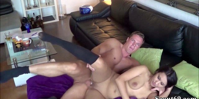 German Teen Hooker filmed at AO Fuck with client at home