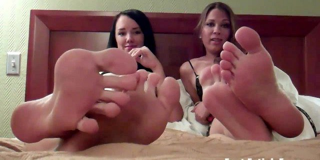 You can do whatever you want with our feet