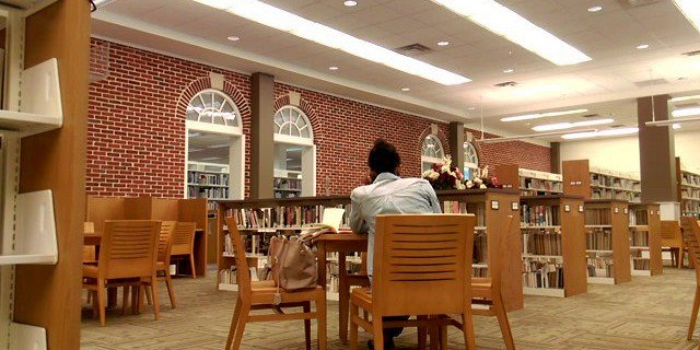 cum on teen in library part 1