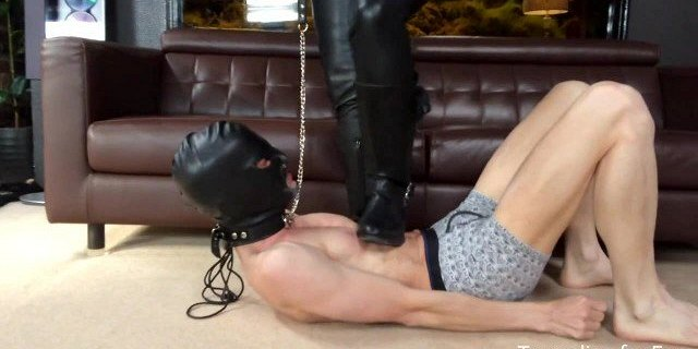 Stomped by Leather Mistress Amberleigh