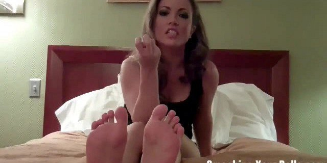 Ballbusting from a true bitch
