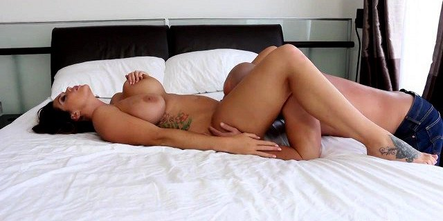 Alison Tyler gets her tight pussy fucked in bed