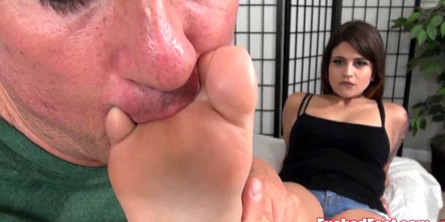 Teen Raquel Roper is Ready to Give a Footjob only at FF