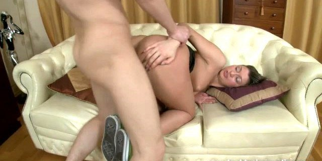 Anal-vaginal sex with new girl