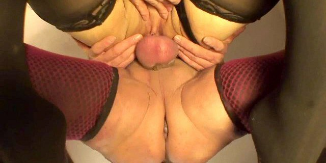 milf riding cock in all her holes