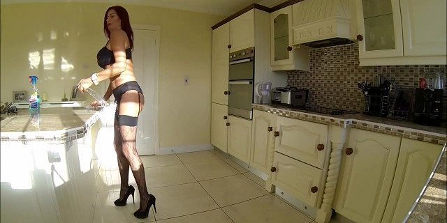 stockings and suspenders