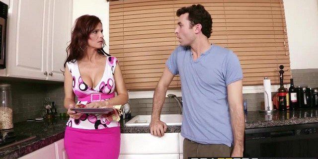 Brazzers - Mommy Got Boobs - While Sons Away Mom Will Play s