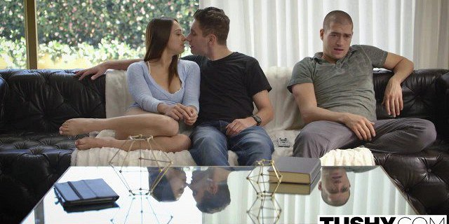 TUSHY Brunette Sara Luvv Fucked In The Ass