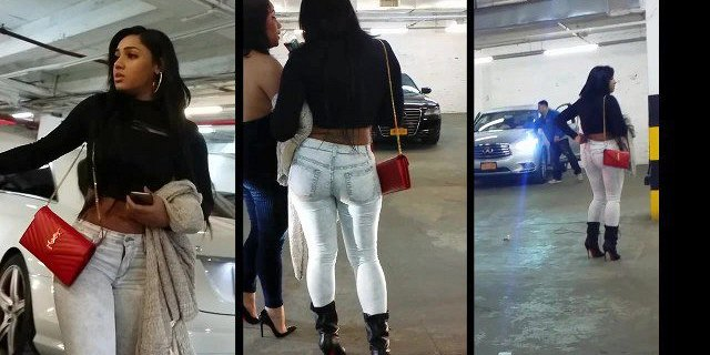 Candid Leather (Gorgeous Dominican Princess)