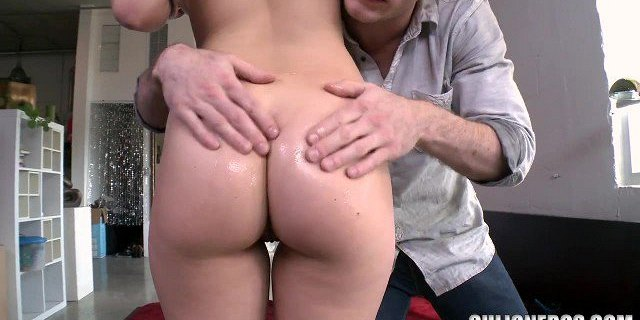 Blonde Gets Her Pussy Fucked Good!