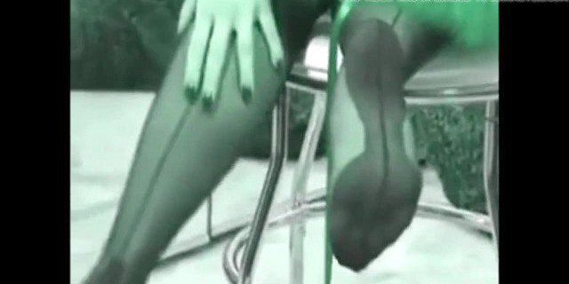 Cougar Solo in Lingerie Stockings & Heels (Recolored)or