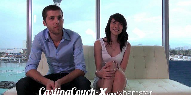 Casting Couch-X High school sweethearts start in porn