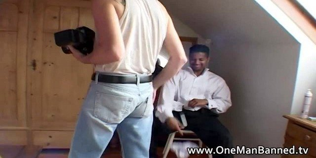 Black man watches his ebony wife being fucked