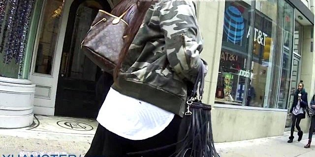 Candid Teen Perfect Bubble Butt In Leggings