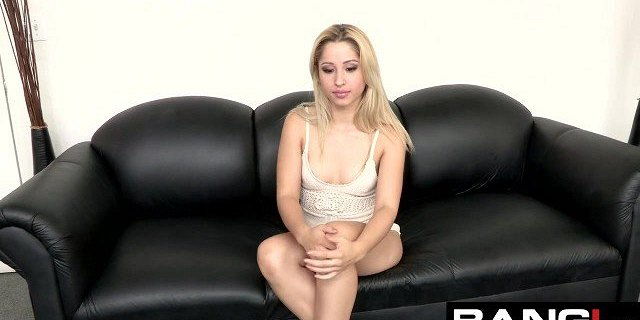 BANG Casting: Goldie gets it Rough for her First Porn