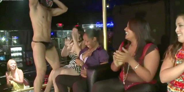 Wild Ladies Are Ready To Suck Stripper Dick