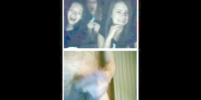 Videochat #7 Funny girls and my dick
