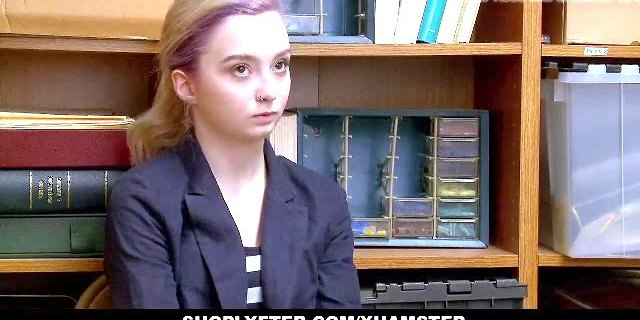 ShopLyfter - Shoplifting Teen Complies With Security Officer