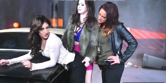 Milf lesbian sluts are on the hunt for a fresh piece of twat