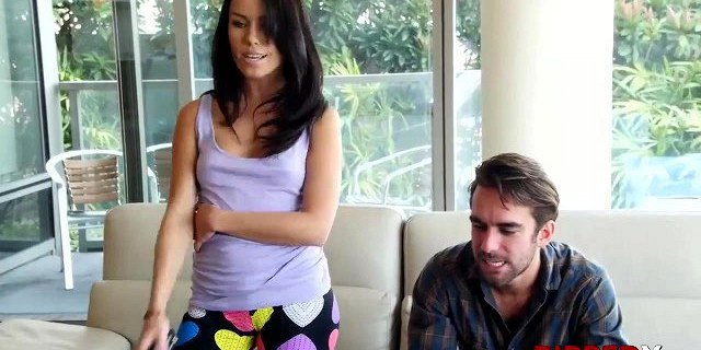 Stepsiblings Megan and Logan like to fight and fuck hard
