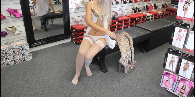 Boots and  white Stockings