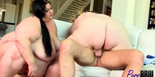 SSBBW girlfriends use their sexual charms to get their way