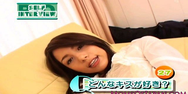 Squirting Japanese milf hairy pussy toy teased