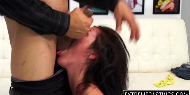 Rene leaves with a cum shot on her face and a gaped pussy