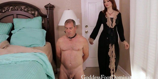 Foot Slaves Nightly Routine Female Domination FootSlave
