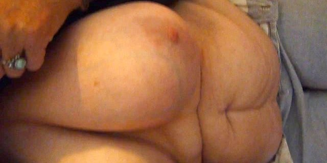 58yr Granny is back...sucking some young cock.