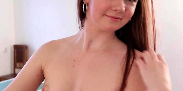 Young Small Tits Foxy Teen with her Bike