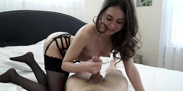 Riley Gets Anal Creampie