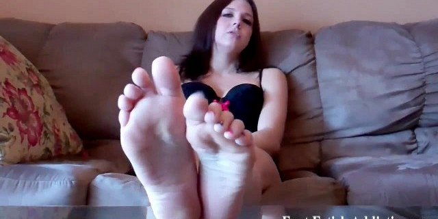 I bet you could use a nice footjob