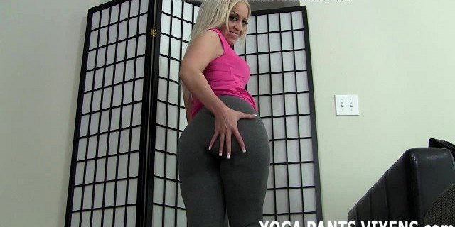 These skin tight yoga pants give me the biggest camel toe JO
