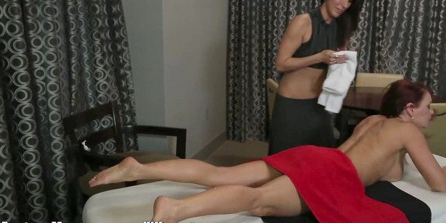 Husband Cheats with Masseuse with Wife in Room