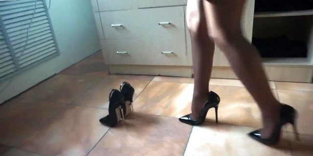 3 pairs of sexy 6 inch stiletto heels
