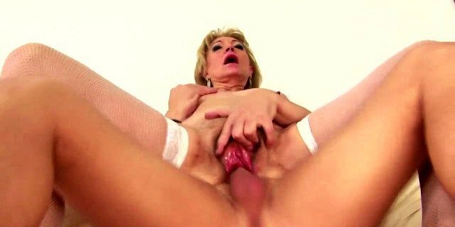 Amateur mother used and creampied by anonymous boy