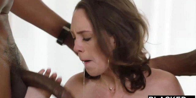 BLACKED Spoiled Rich Girl Cheats With Two BBCs