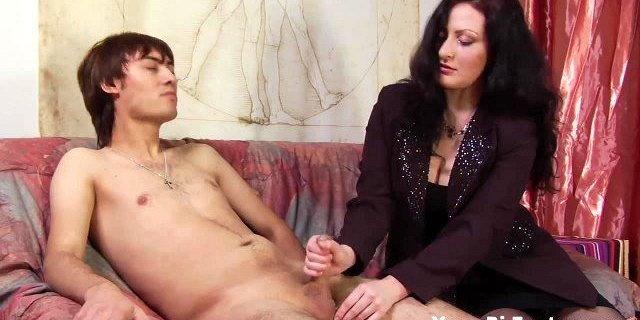 Come here and let momma finger your prostate
