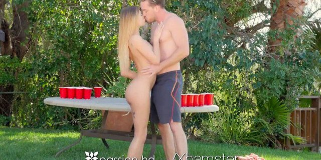 PASSION-HD Beer pong fuck for spring break with Sydney Cole
