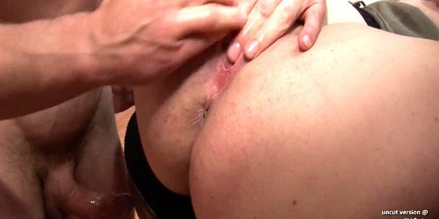 Pretty chubby french blonde hard analyzed and double teamed