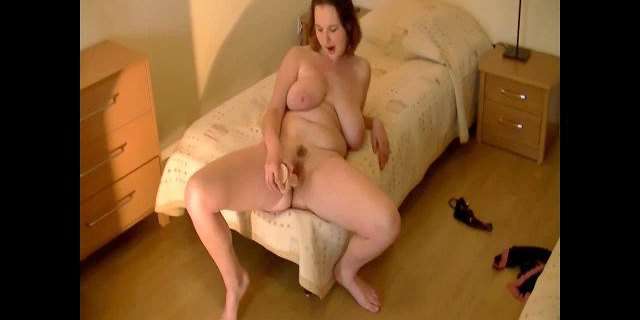 young chubby with nice saggy tits