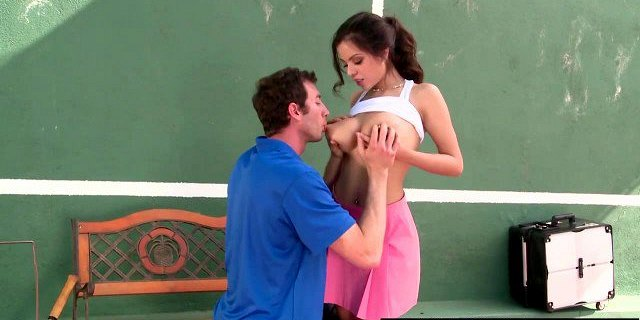 Brazzers - Big Tits In Sports - Playing with my Tennis Balls